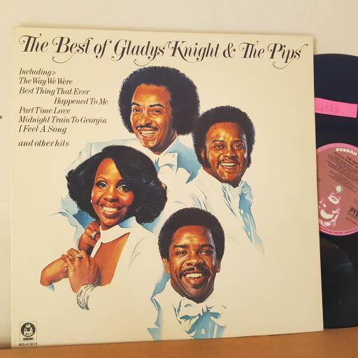 "GLADYS KNIGHT AND THE PIPS The best of, 12"" vinyl LP. BDLH5013"