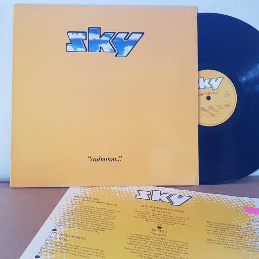 """SKY """"cadmium..."""", 12"""" vinyl LP. 205885"""