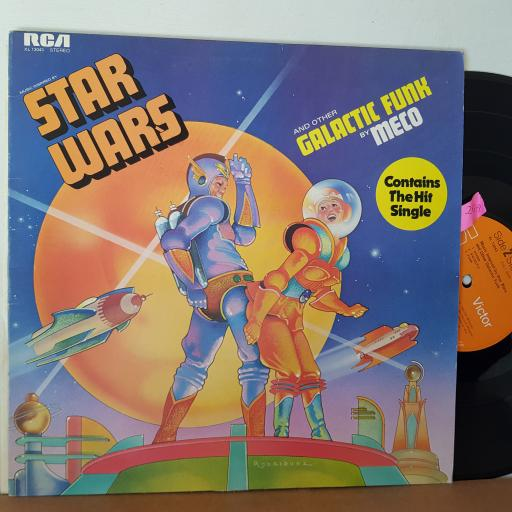 "MECO music inspired by Star Wars and other GALACTIC FUNK 12"" VINYL LP. XL13043"
