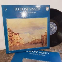 "VIVALDII MUSICI Concerti e sinfonie, VOL. 8 6x 12"" vinyl LP. 6768014."