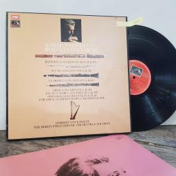 "Brandenburgische Konzerte / brandenburg concertos / les concertos brandebourgeois, 2x 12"" vinyl LP. 2707112."