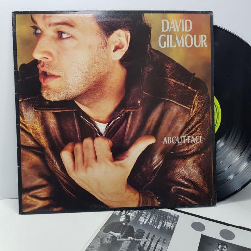 "DAVID GILMOUR About face, 12"" vinyl LP. SHSP2400791"