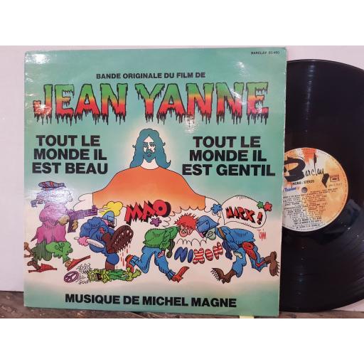 """MICHEL MAGNE Tout le monde II est beau, tout le monde II est gentil (bande originale du film), 12"""" vinyl LP. 80460"""