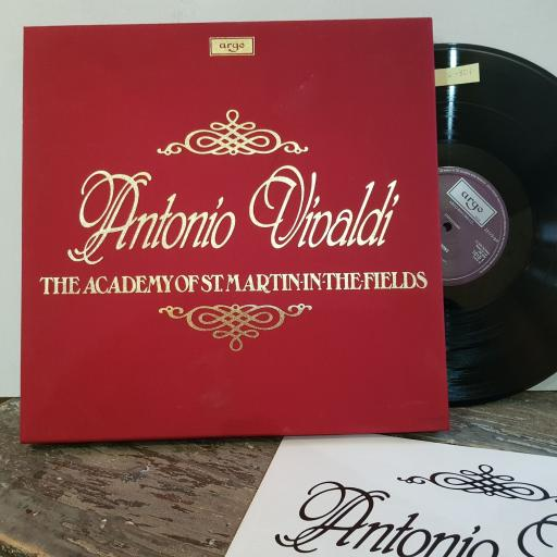"Antonio vivaldi / the academy of stmartin-in-the-fields, 10x 12"" vinyls LP. D101D10"