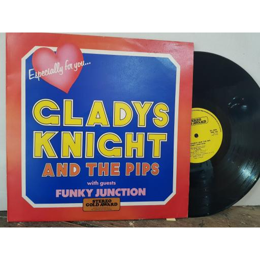 """GLADYS KNIGHT AND THE PIPS WITH GUESTS FUNKY JUNCTION Especially for you..., 12"""" vinyl LP. MER394"""