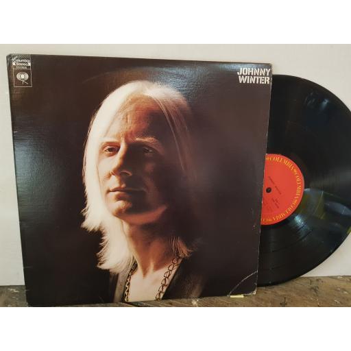 "JOHNNY WINTER, 12"" vinyl LP. CS9826"