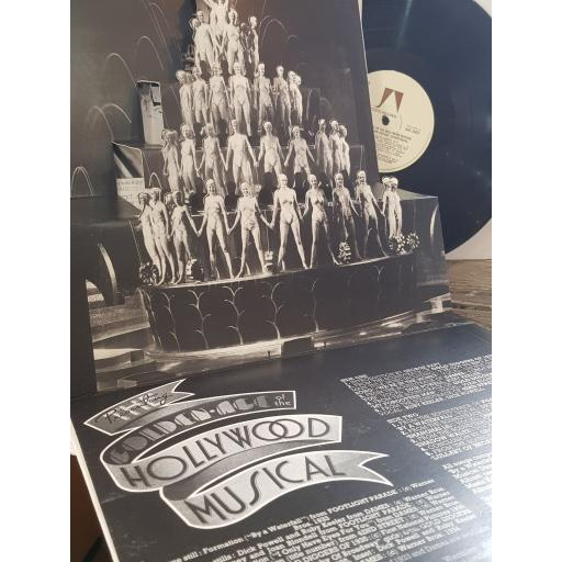 """VARIOUS The golden age of the hollywood musical, 12"""" vinyl LP compilation. UAG29421"""