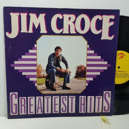 """JIM CROCE Greatest hits, 12"""" vinyl LP compilation. 843001"""