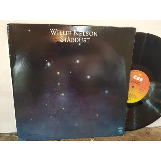 "WILLIE NELSON Stardust, 12"" vinyl LP. CBS82710"
