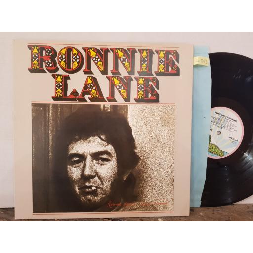 """RONNIE LANE's slime chance, 12"""" vinyl LP. ILPS9321"""