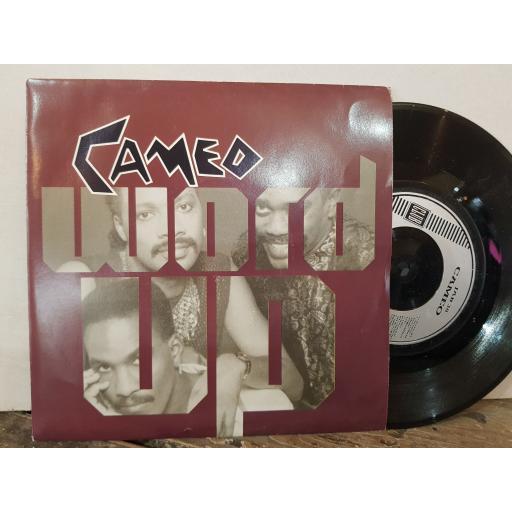 "CAMEO word up. urban warrior. 7"" VINYL SINGLE. JAB38"