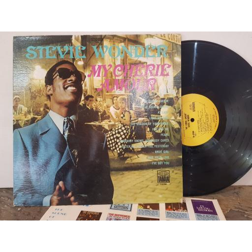 "STEVIE WONDER My cherie amour, 12"" vinyl LP. S296"