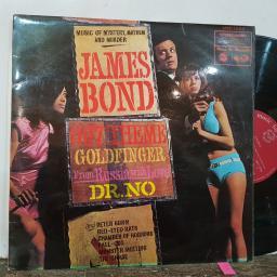 "JAMES BOND, Music of mystery mayhem and murder, 12"" vinyl LP compilation. MFP1254"