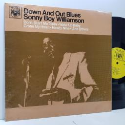 """SONNY BOY WILLIAMSON Down and out blues, 12"""" vinyl LP. MAL662"""