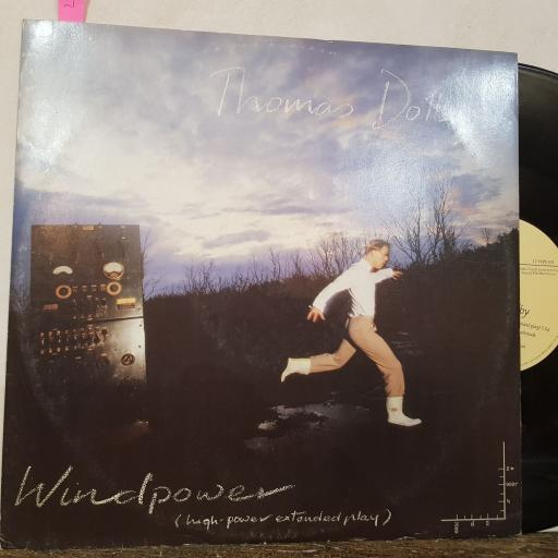 "THOMAS DOLBY Windpower, 12"" vinyl SINGLE. 12VIPS103"