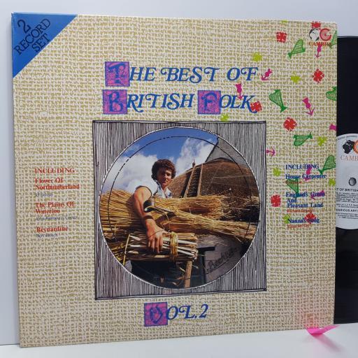"""The best of british folk. JOHN RENBOURN, BERT JANSCH. RALPH McTELL, PENTANGLE ETC ETC vol.2, 2x 12"""" vinyl LP compilation. CR5164"""