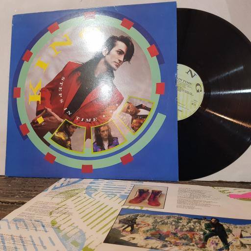 "KING Steps in time, 12"" vinyl LP. 26095"