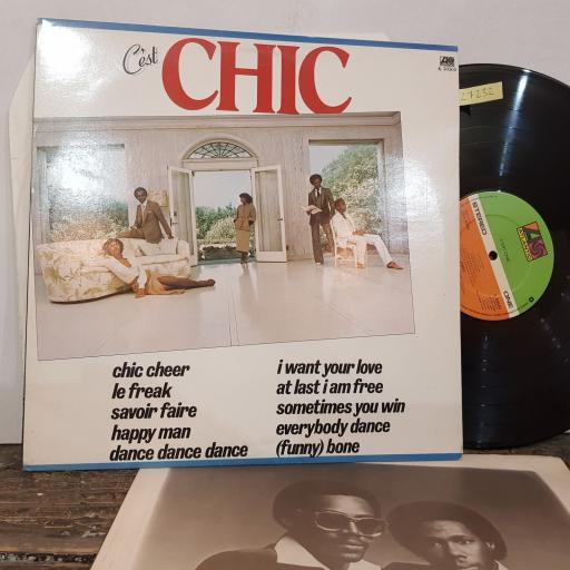 """C'EST CHIC Chic, 12"""" vinyl LP. K50565"""