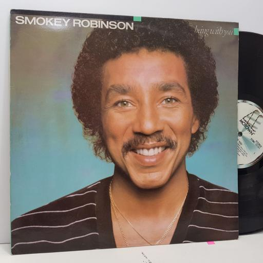 """SMOKEY ROBINSON Being with you, 12"""" vinyl LP. STML12151"""