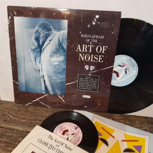 """THE ART OF NOISE Whos afraid of, 12 vinyl LP & BONUS 7"""". ZTTIQ2"""