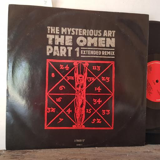 "THE MYSTERIOUS ART the omen part 1 extended remix. 12"" vinyl SINGLE. 6549666"