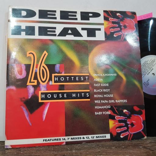 "VARIOUS Deep heat, 2x 12"" vinyl LP compilation. STAR2345"