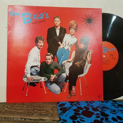 """THE B-52S Wild planet, 12"""" vinyl LP. ILPS9622"""