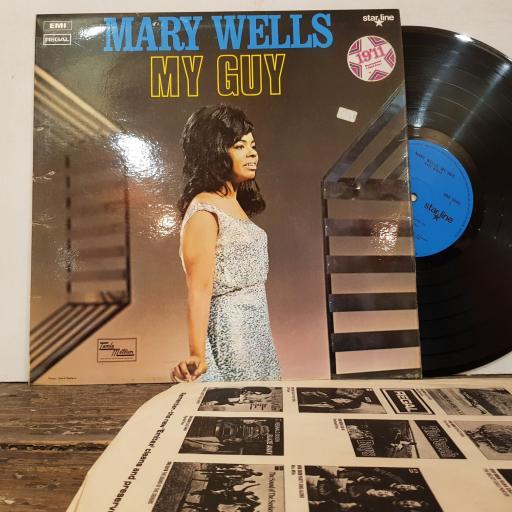 "MARY WELLS My guy, 12"" vinyl LP. SRS5040"