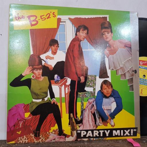 "THE B-52S Part mix, 12"" vinyl LP. IPM1001"