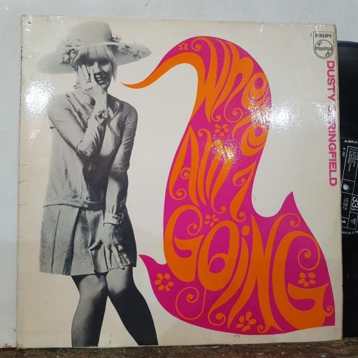 "DUSTY SPRINGFIELD Where am i going, 12"" vinyl LP. BL7820"