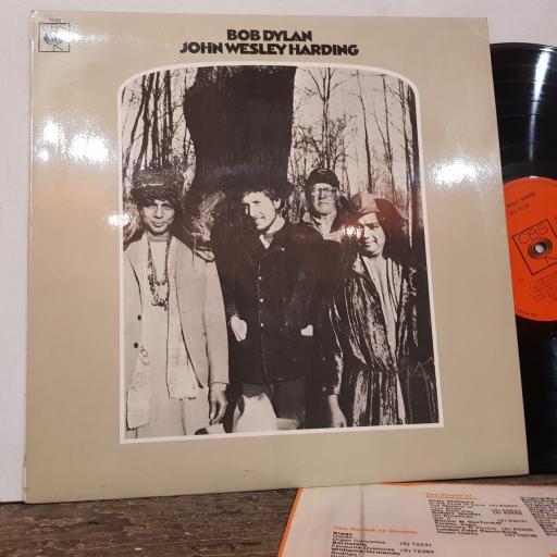 "BOB DYLAN John wesley harding, 12"" vinyl LP. 63252 mono"