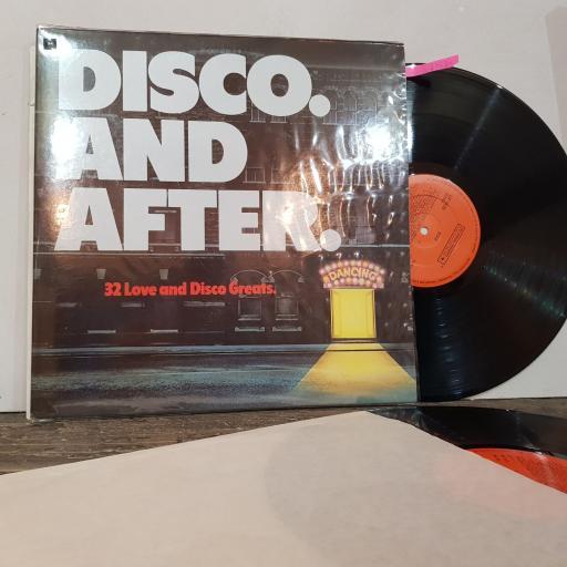 """VARIOUS disco, 2x 12"""" vinyl LP compilation. LSP13789"""