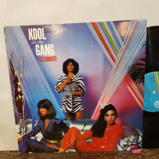 """KOOL & THE GANG Celerbrate, 12"""" vinyl LP. 6359029"""