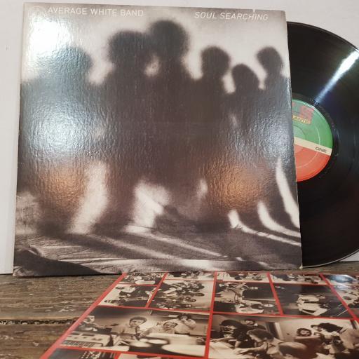 """AVERAGE WHITE BAND soul searching, 12"""" vinyl LP. SD18179"""