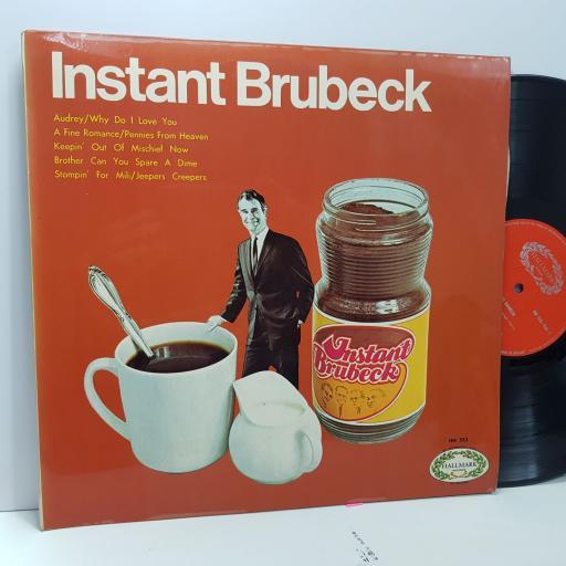 "DAVE BRUBECK Instant brubeck, 12"" vinyl LP. HM553"