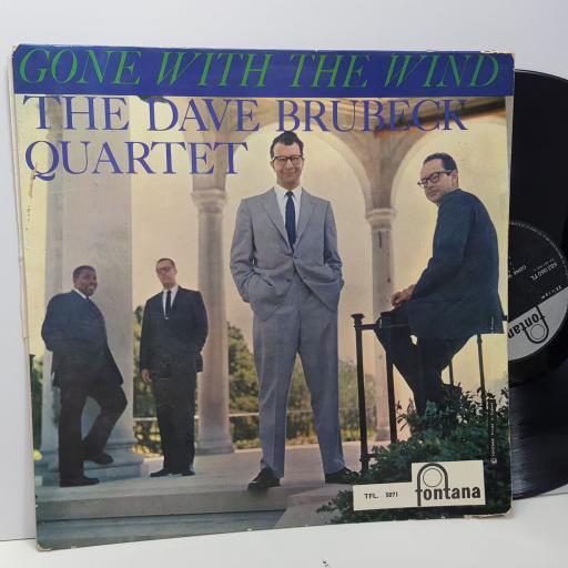 "THE DAVE BRUBECK QUARTET Gone with the wind, 12"" vinyl LP. TFL5071"