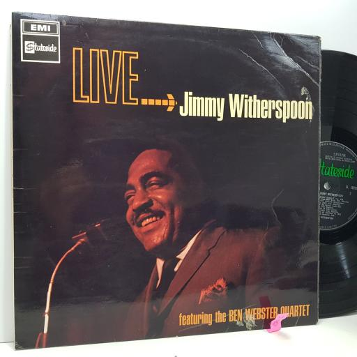 "JIMMY WITHERSPOON ""Live"", 12"" vinyl LP. SL10232"
