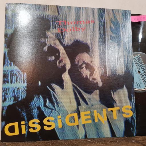 "THOMAS DOLBY Dissidents, 12"" vinyl SINGLE. 12R6071"