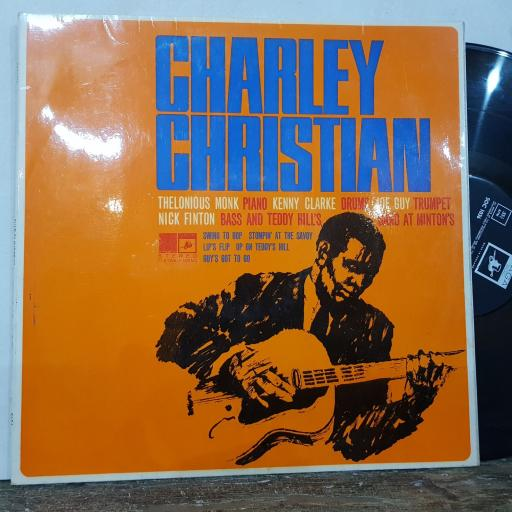 "CHARLEY CHRISTIAN The immortal charley christian, 12"" vinyl LP. SOC1036"