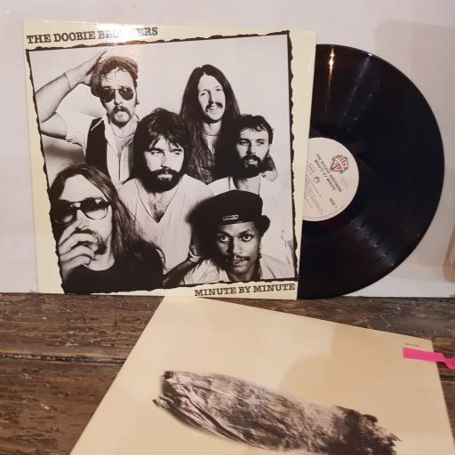 """THE DOOBIE BROTHERS Minute by minute, 12"""" vinyl LP. WB56486"""