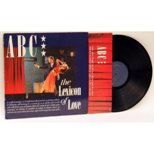 ABC the Lexicon of Love. LP NTRS1