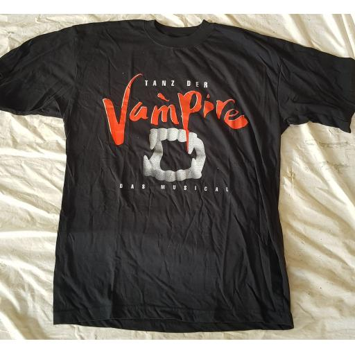MEAT LOAF, original tour t-shirt TANZ DER VAMPIRE DAS MUSICAL