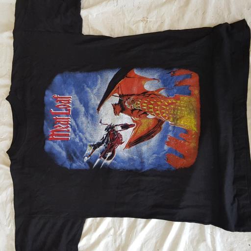 MEAT LOAF original tour t-shirt