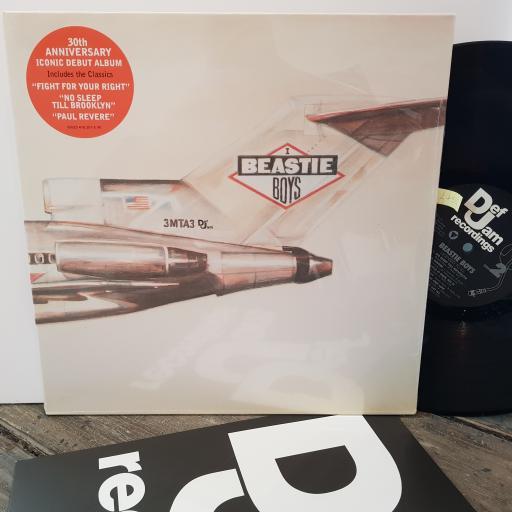 "BEASTIE BOYS Licensed to III, 12"" vinyl LP. 0602547820754"