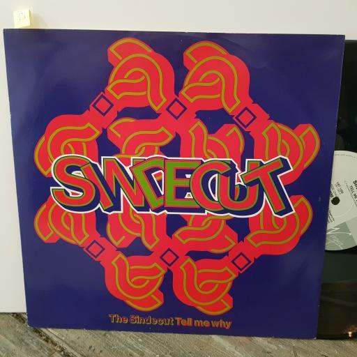 """THE SIDECUT Tell me why?, 12"""" vinyl SINGLE. VST1288"""
