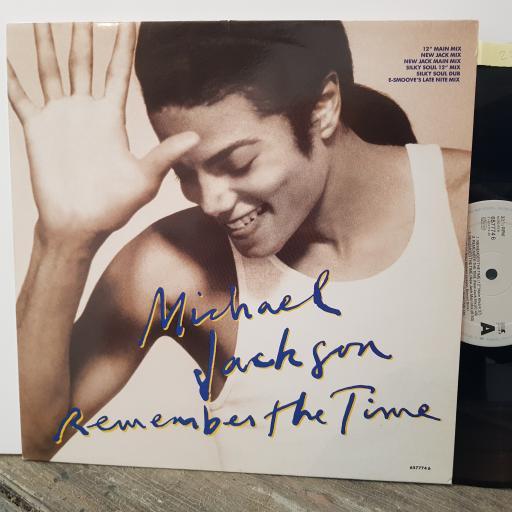 """MICHAEL JACKSON Remember the time, 12"""" vinyl MAXI-SINGLE. 6577746"""