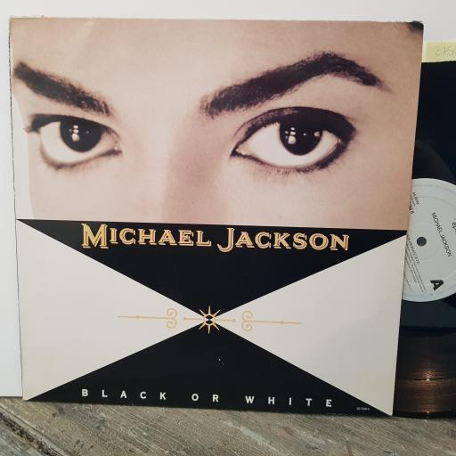 "MICHAEL JACKSON Black or white, 12"" vinyl LP. 6575986"