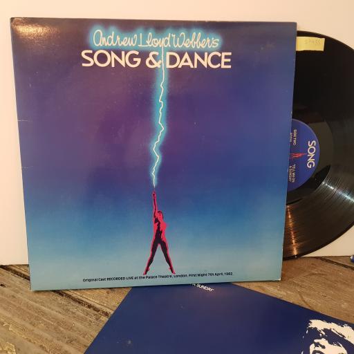 """ANDREW LLOYD WEBBER Song and dance, 2x 12"""" vinyl LP. PODV4"""