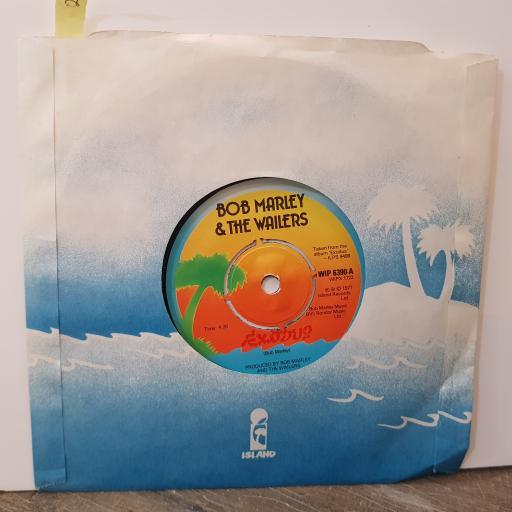 "BOB MARLEY & THE WAILERS Exodus, 7"" vinyl single. WIP6390"