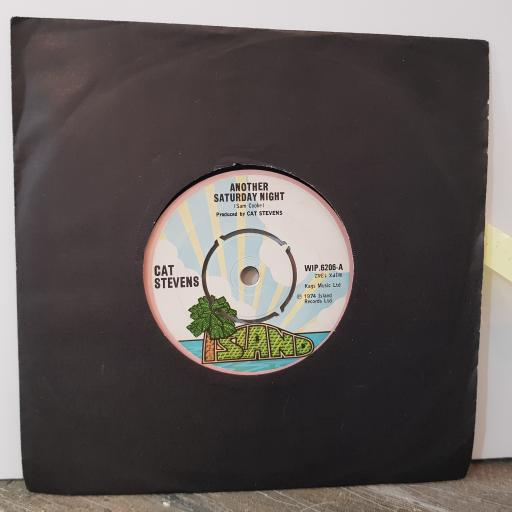"CAT STEVENS Another saturday night, 7"" vinyl single. WIP6206"